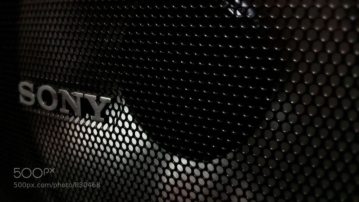 Photograph Sony Speaker by Evandro Felippe on 500px