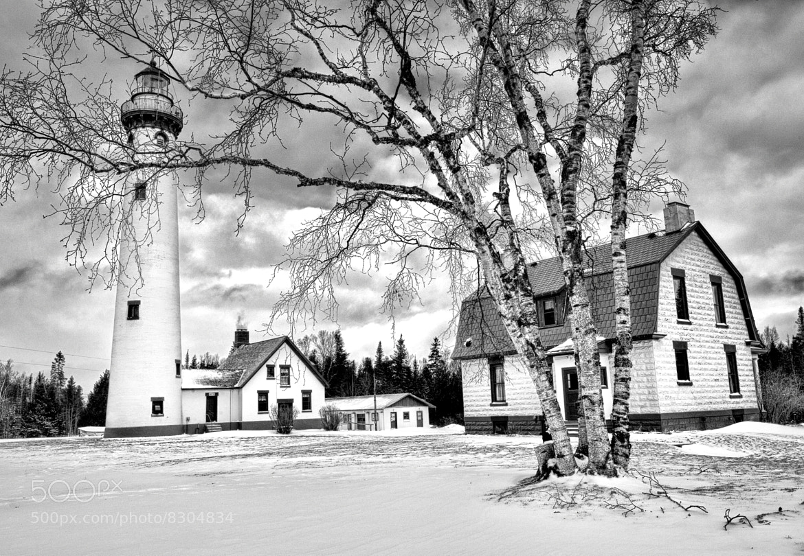 "Photograph ""New Presque Isle Lighthouse"" Presque Isle, Michigan  by John McCormick on 500px"