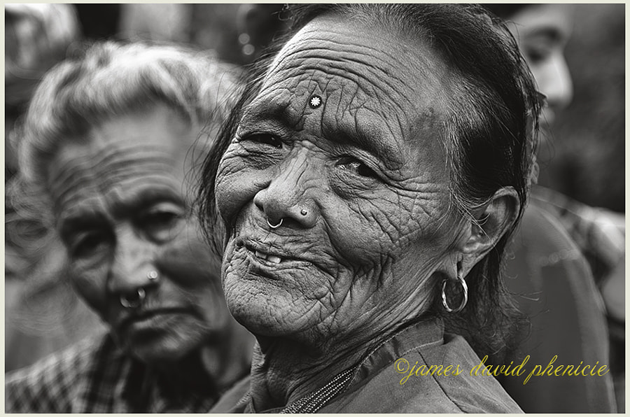 Nepal Series:  Wrinkled Beauty