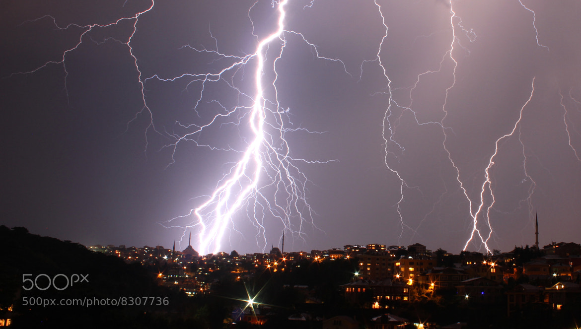 Photograph Lightning by zen free on 500px