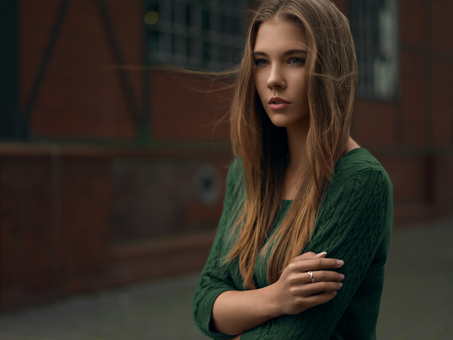 TF dark and moody portrait - natural light by Daniel Hager on 500px.com