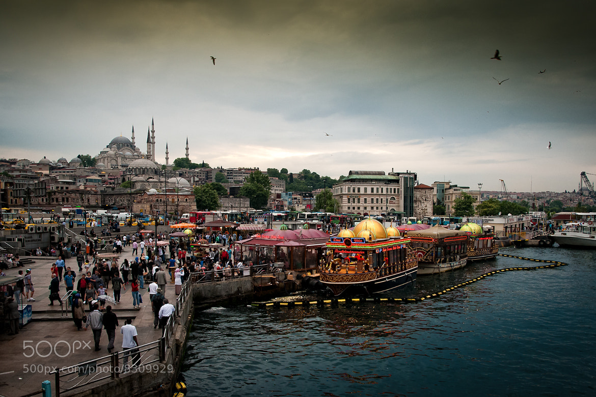 Photograph Istanbul - Eminönü by Michael Schwab on 500px
