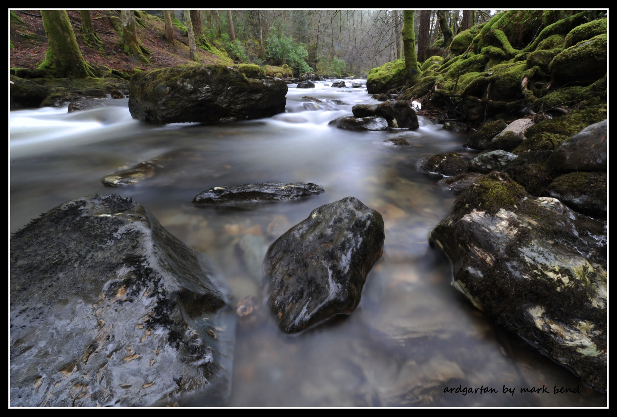Photograph ardgarton burn1 by Mark Bend on 500px
