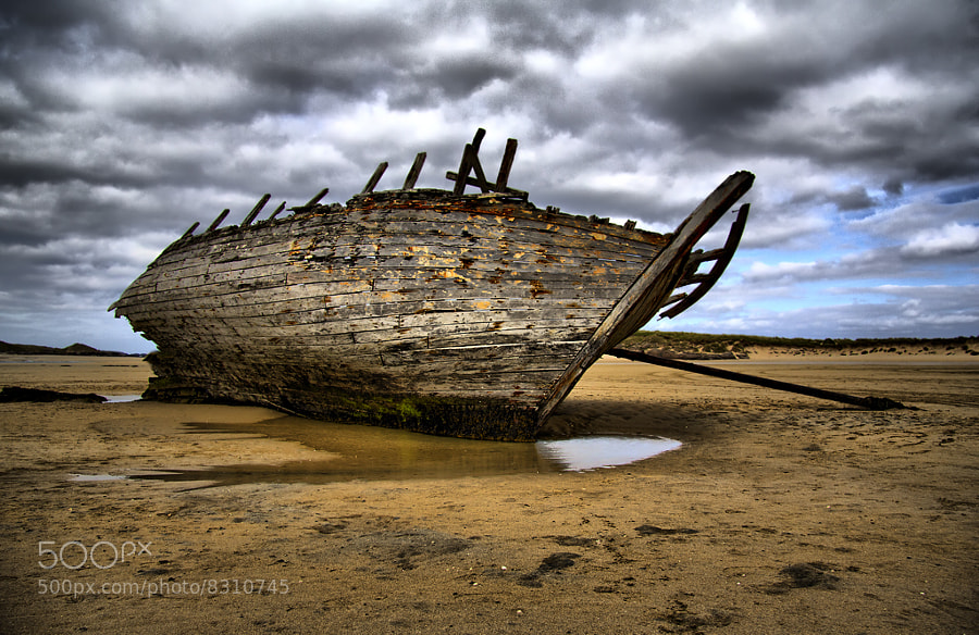 Photograph Eddie's Boat by Kevin Colgan on 500px