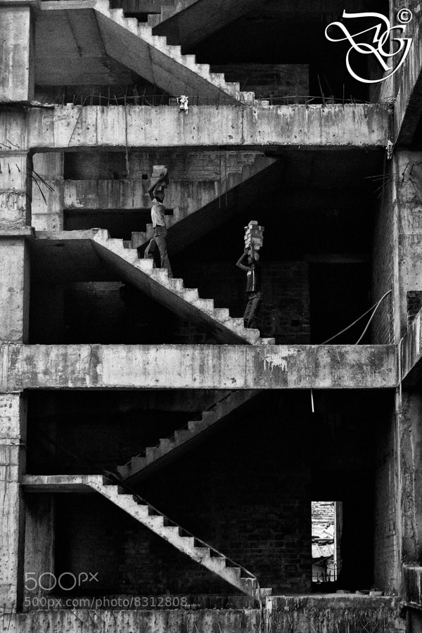 Photograph The Staircase... by Diganta Gogoi on 500px