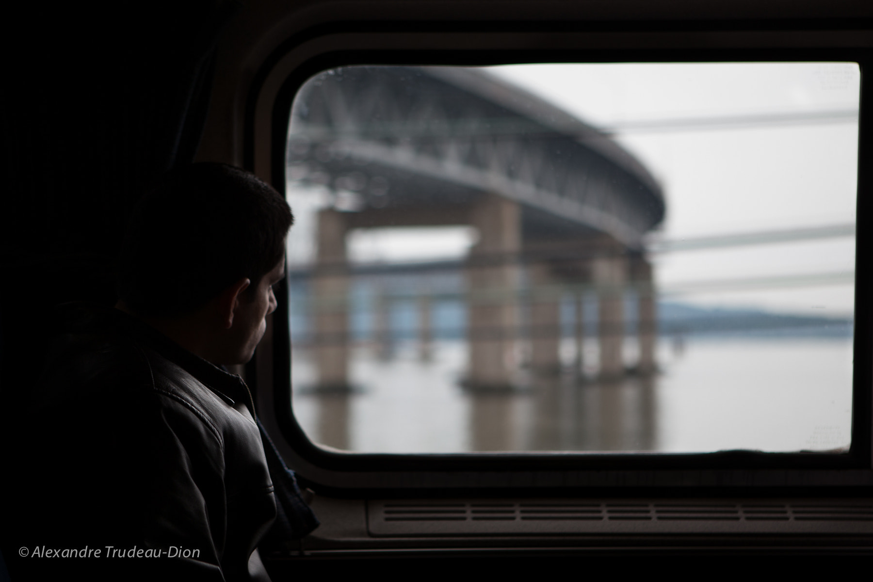 Photograph On the train by Alexandre Trudeau-Dion on 500px