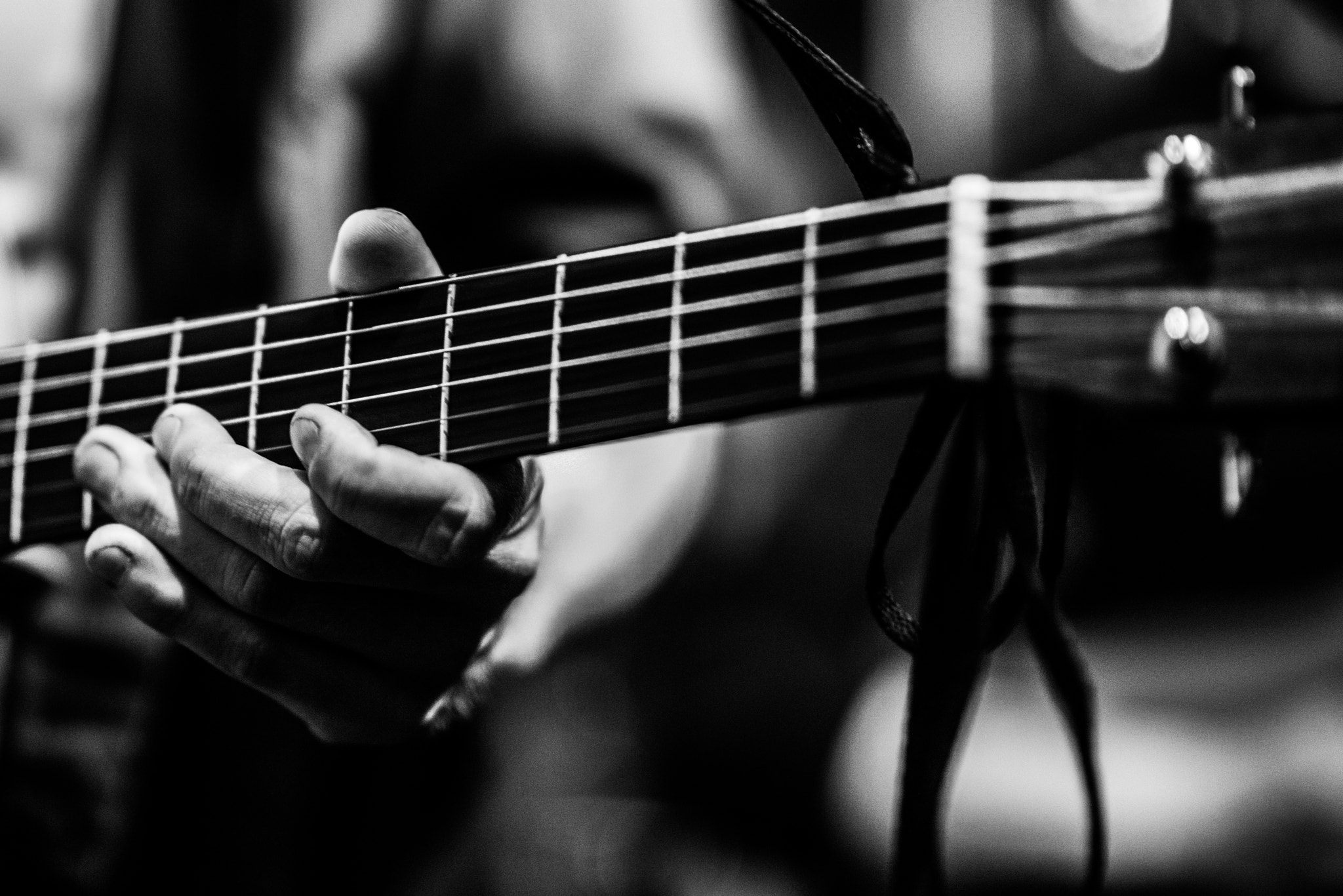Photograph Guitarist From The Calvinists by Jasper Poppe on 500px