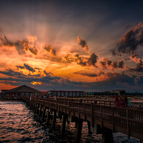 Tybee Island Sunset by Scott Kublin (HDRPhotographyBlog) on 500px.com