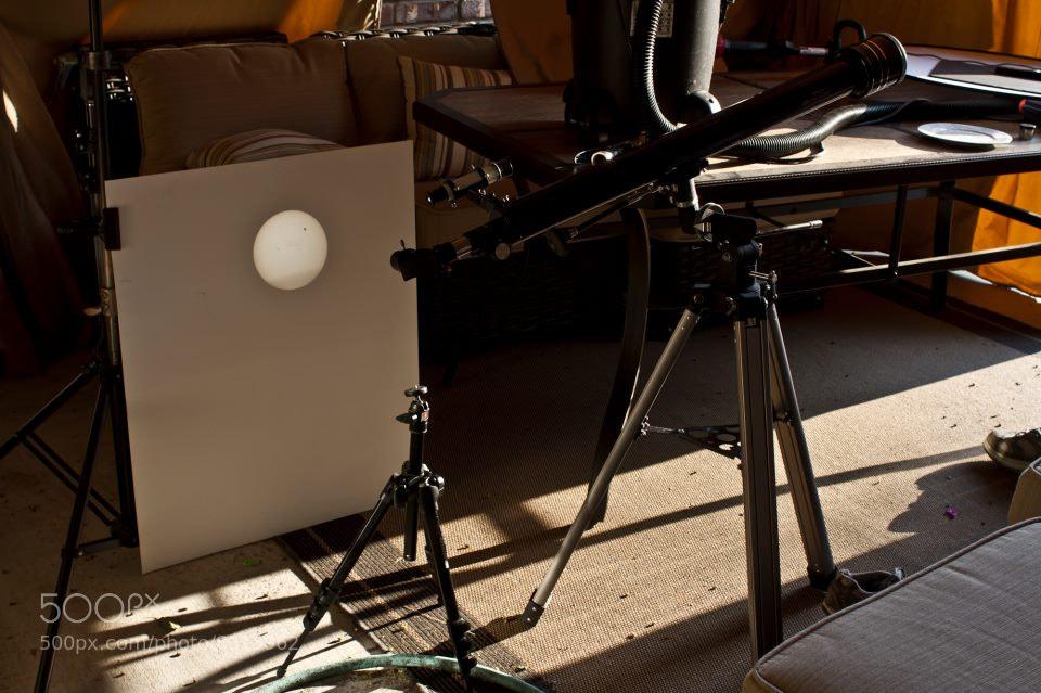 Photograph Venus Transit Setup by Daniel Brennan on 500px