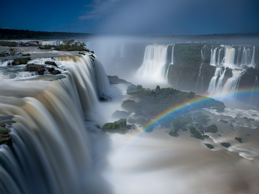 Photograph Moonbow by Carlos Fernandez de la Peña on 500px