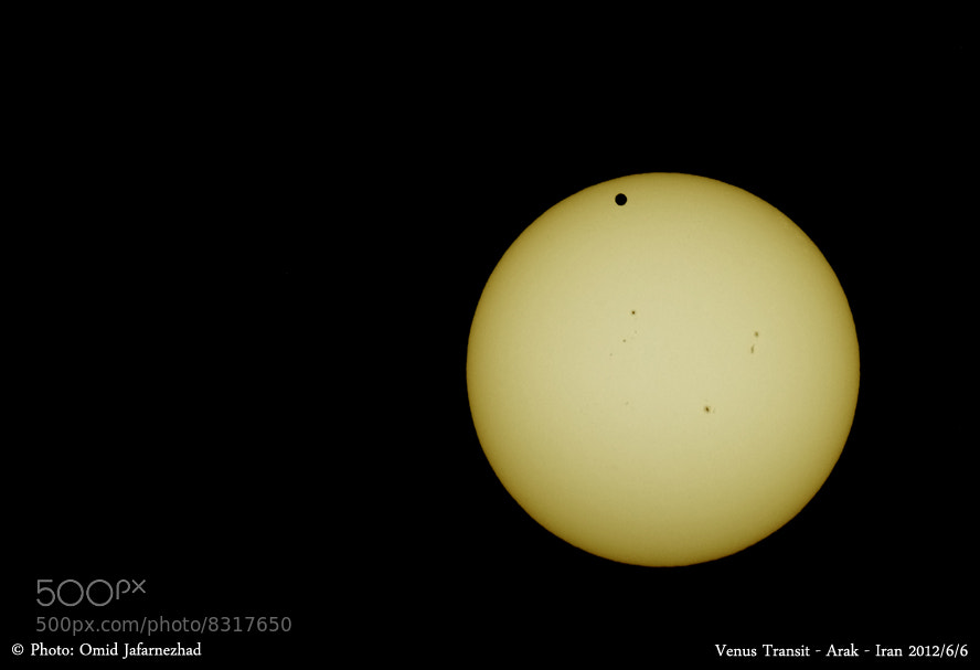 Photograph Venus Transit in arak by Omid Jafarnezhad on 500px