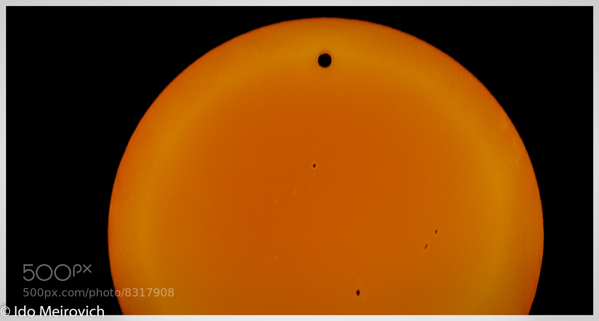 Photograph Transit of Venus by Ido Meirovich on 500px
