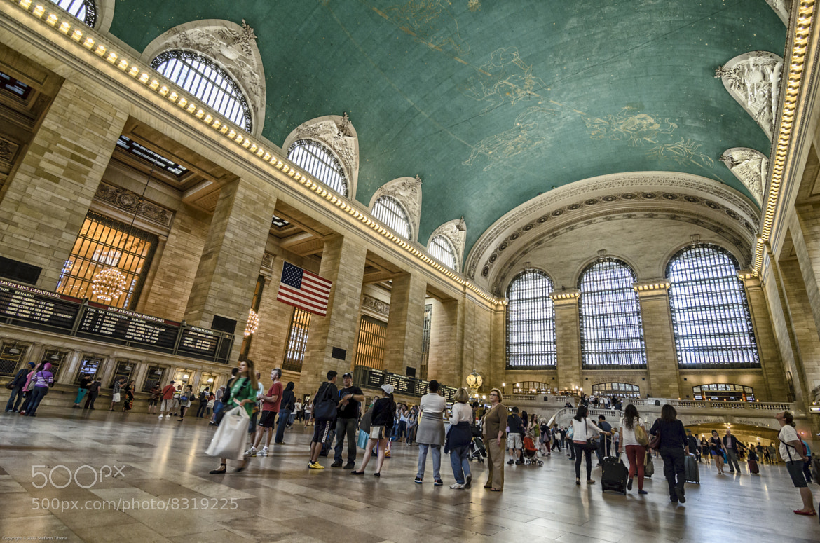 Photograph Grand Central Terminal by Stefano Tiberia on 500px