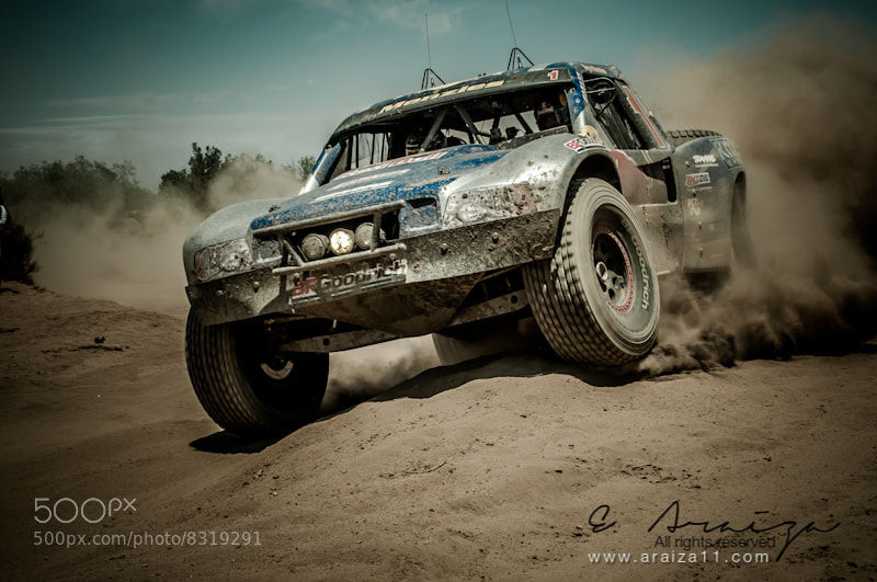 Photograph Baja 500 Winner by E. Araiza on 500px