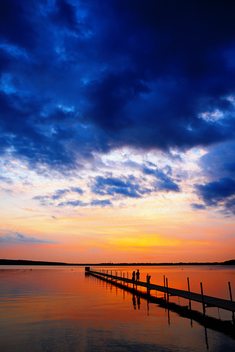Photograph Lake Sunset by Mike Devlin on 500px