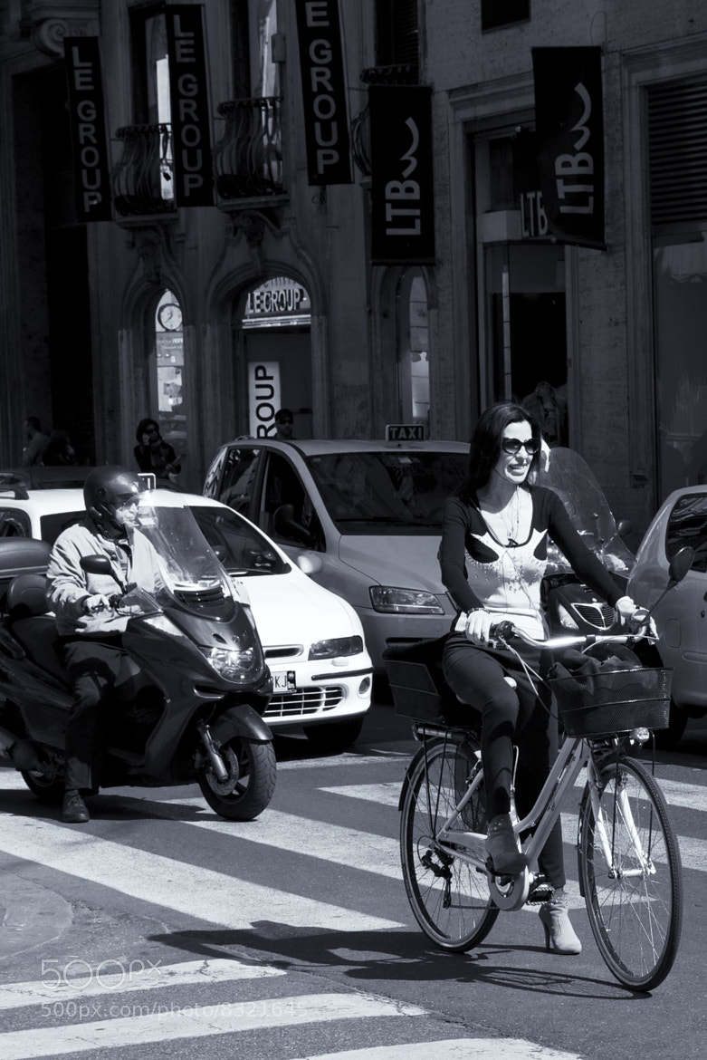 Photograph cyclist by Enzo Marzoli on 500px