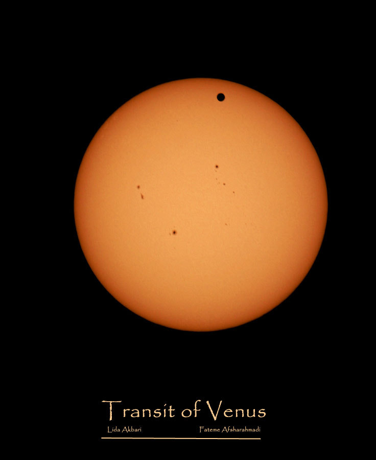 Photograph Venus Transit 06.06.2012 by happy girl on 500px