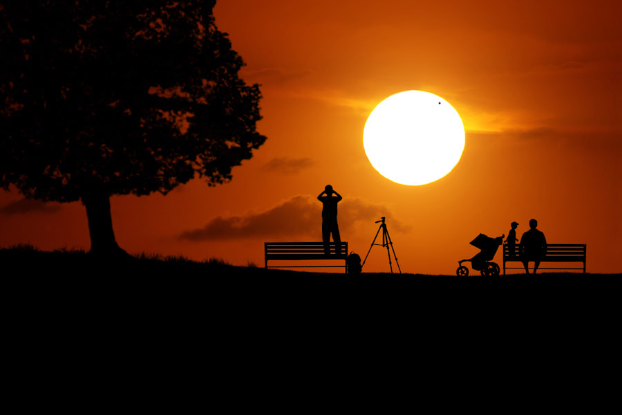 Photograph Venus Transit by Carlos Gotay on 500px