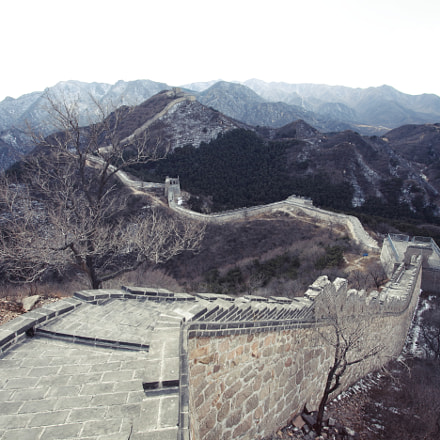 Ruins of Great Wall of China