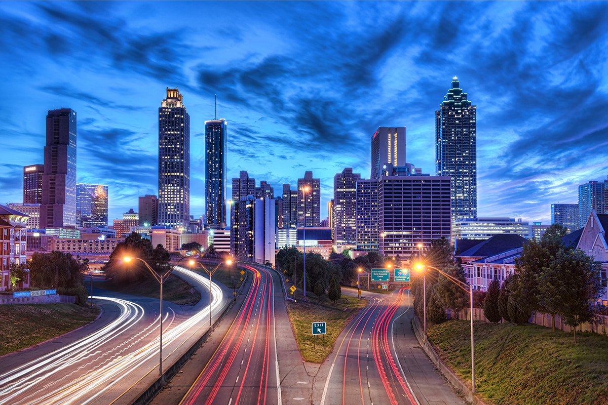 Photograph Downtown Atlanta by David Kosmos Smith on 500px