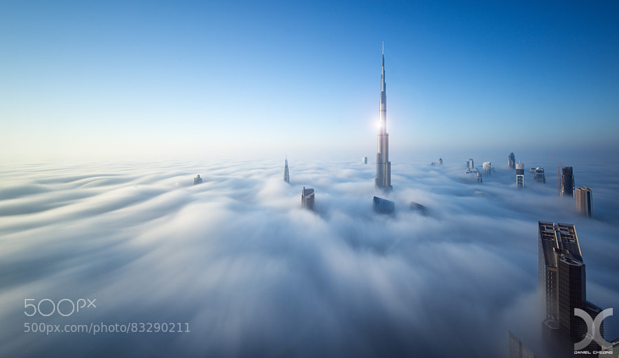 Photograph Heavenly Dubai by Daniel Cheong on 500px