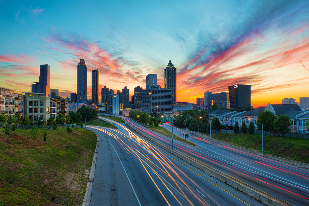 Photograph Sunset Over Atlanta by David Kosmos Smith on 500px