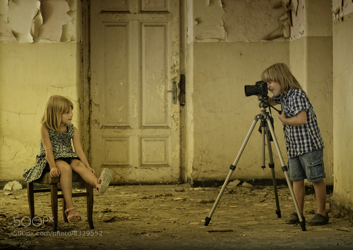 Photograph Little photographer by Maria Churkina on 500px