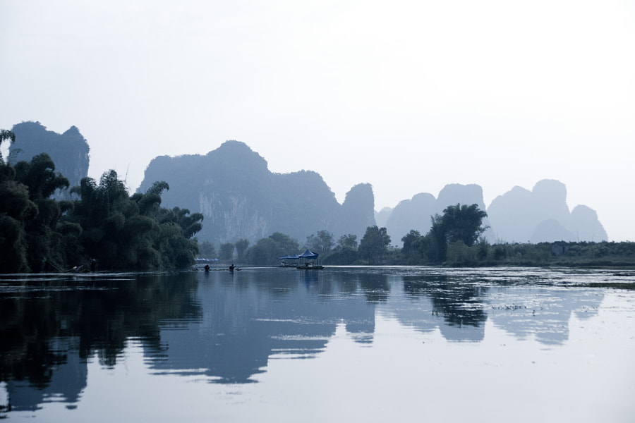Impression of the Yulong river
