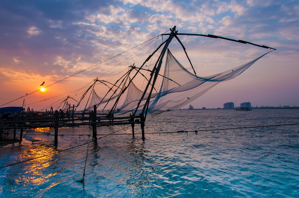 Photograph The Chinese Fishing Nets by Shimi Zacken on 500px
