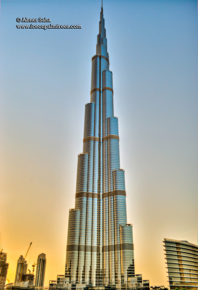 Photograph Sunset Over The Burj Khalifa by Abner Saha on 500px