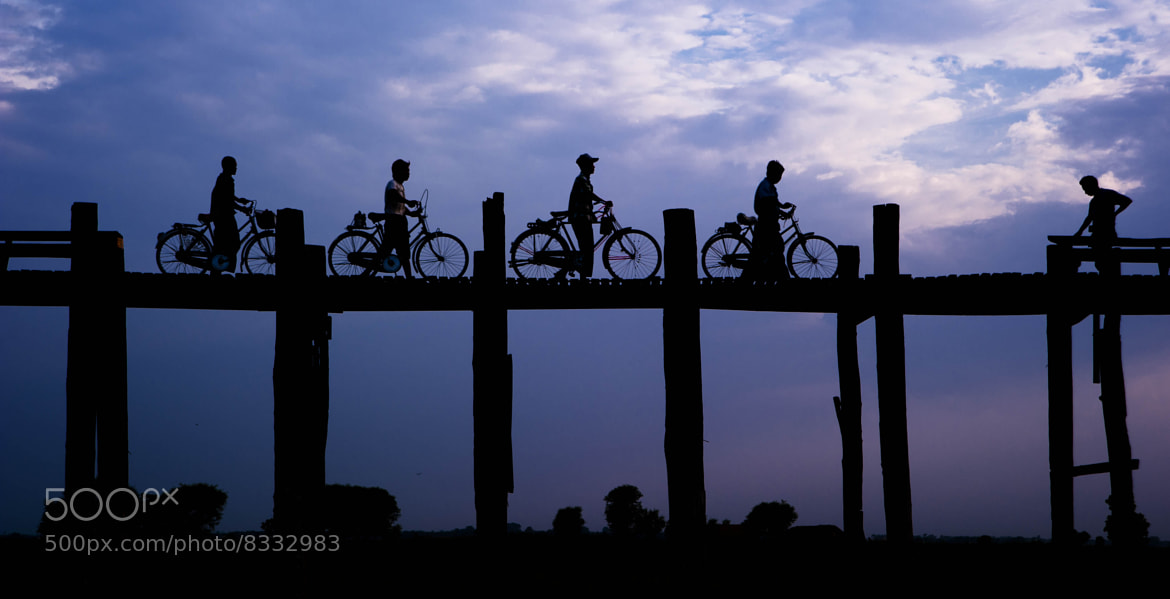 Photograph U Bein bridge by Carlos Valades on 500px