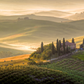 Sunrise in Tuscany by Francesco Riccardo Iacomino (ronnybas)) on 500px.com