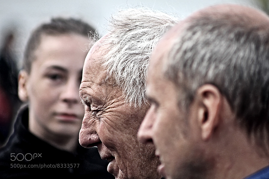 Photograph Old man by Christer Häggqvist on 500px
