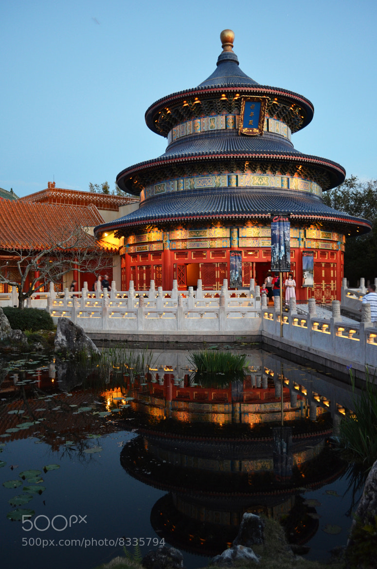 Photograph Templo chinês no Epcot by Evandro Arruda on 500px