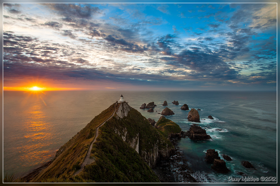 Photograph The first sunrays by Danny Matthys on 500px