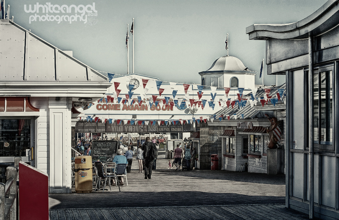 Photograph Grand Pier by WHITE ANGEL PHOTOGRAPHY on 500px