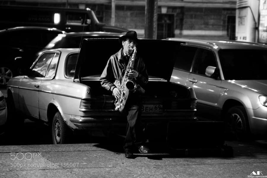 Photograph Old sax by Alexandr Kolbaya on 500px