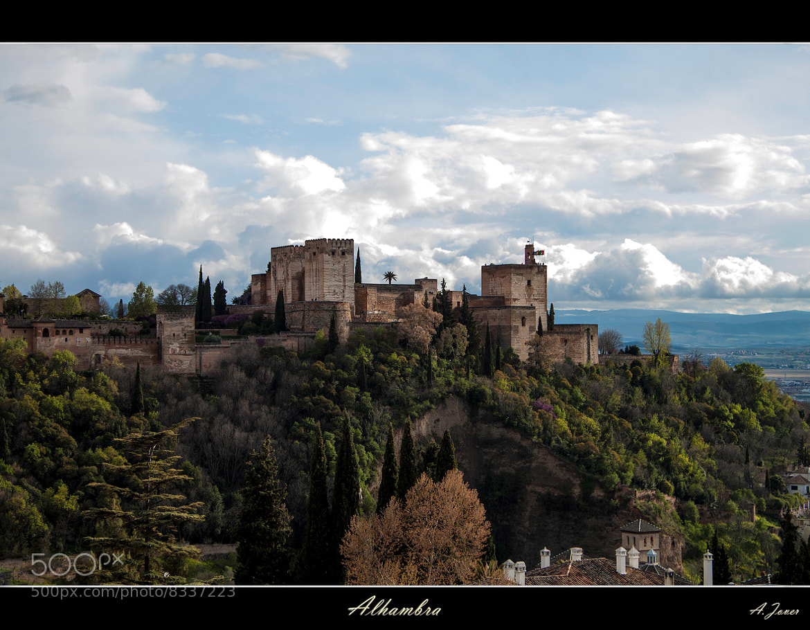 Photograph Alhambra by Antonio Jover on 500px