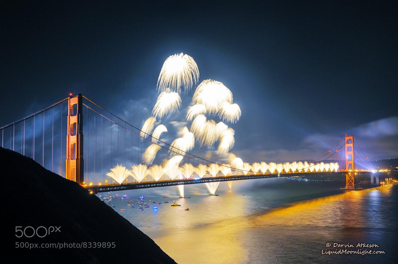 Photograph Fanfare - Golden Gate Bridge 75th Anniversary by Darvin Atkeson on 500px