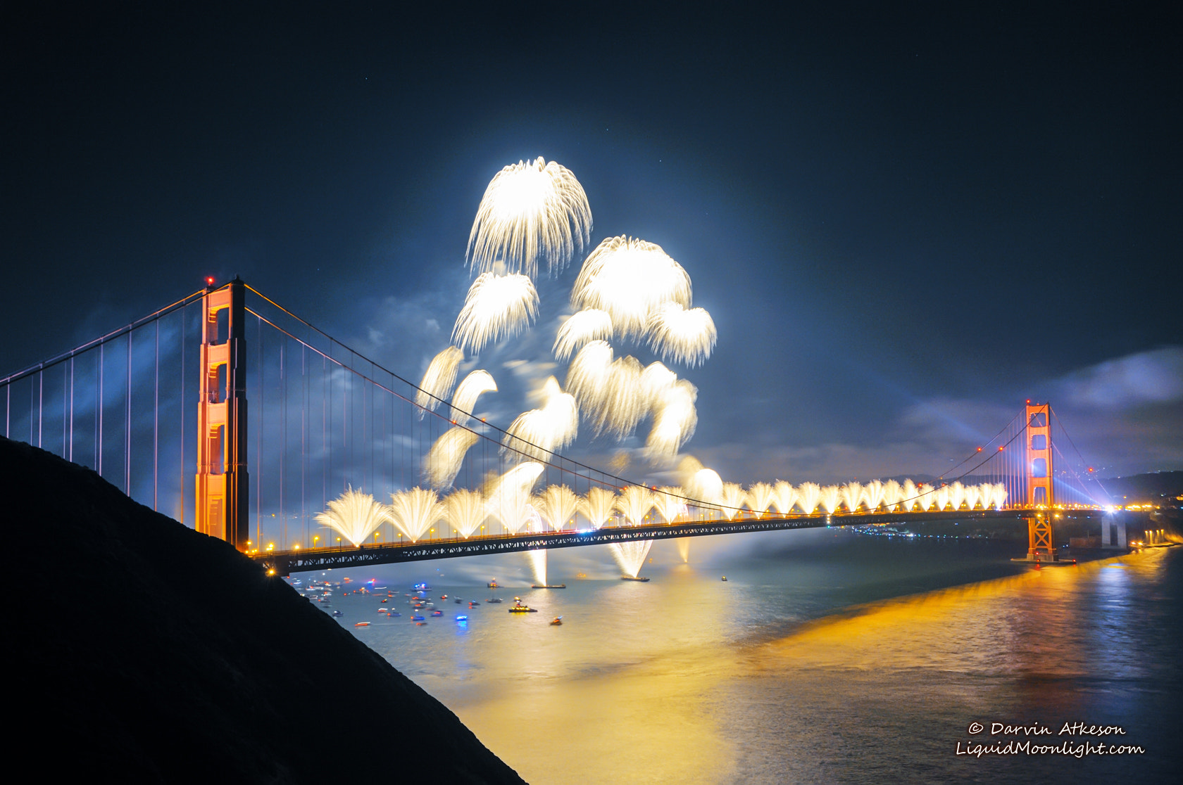 Photograph Fanfare - Golden Gate Bridge 75th Anniversary by Darvin Atkeson on 500px