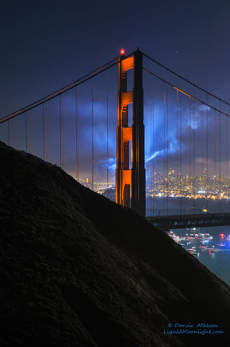 Photograph San Francisco Blues - Golden Gate Bridge 75th Anniversary  by Darvin Atkeson on 500px