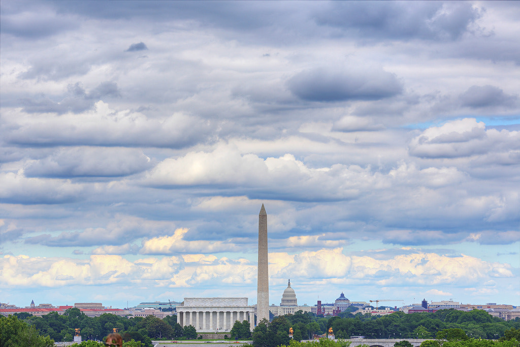 Photograph Clouds Over Washington, DC by Metro DC Photography on 500px