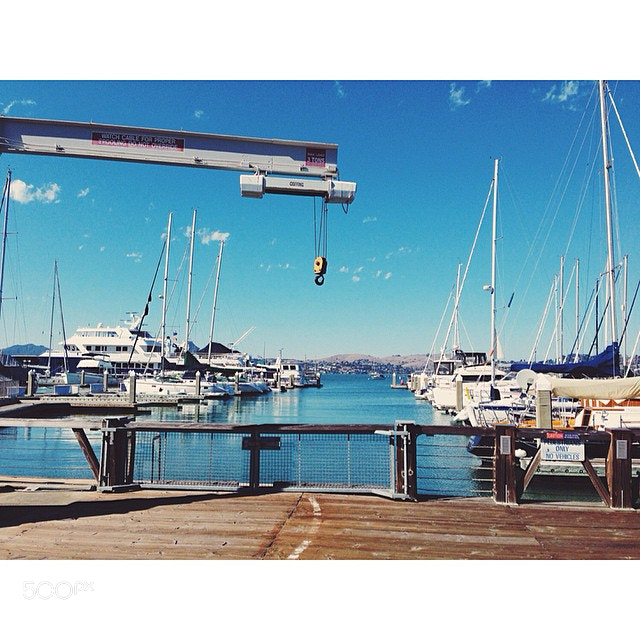 Photograph Day 1: Peaceful Sausalito #500northwest #sausalito #california #colours #watercolours #harbour #mari by Evgeny Tchebotarev on 500px