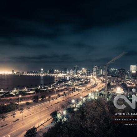 A nova marginal de Luanda