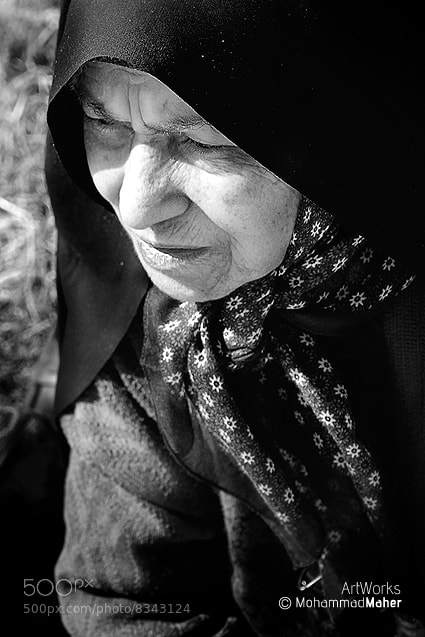 Photograph Woman,after years! by Mohammad Maher on 500px