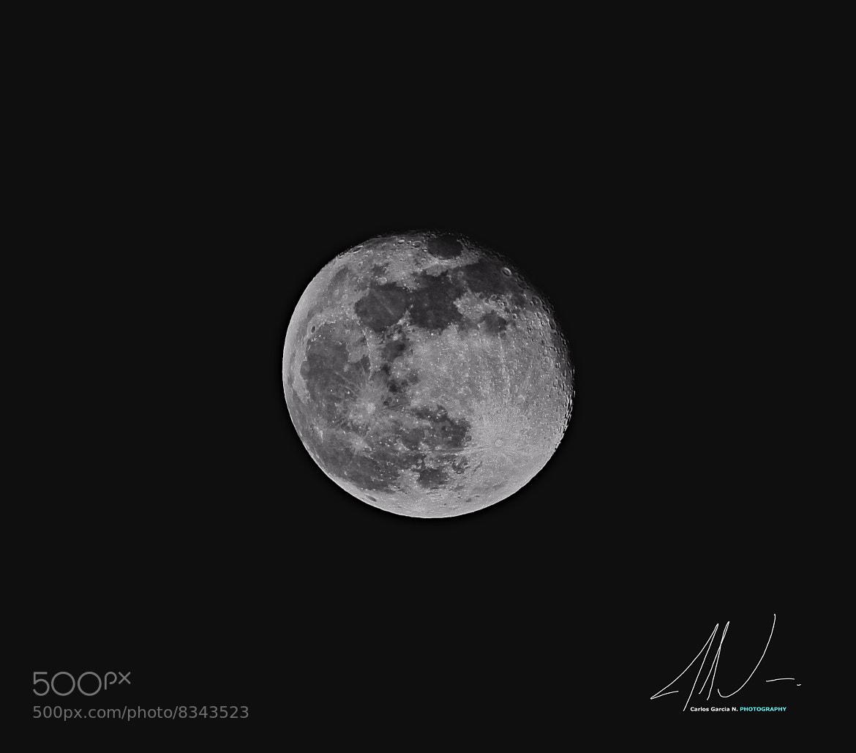 Photograph Moon 060612 by Carlos Garcia N on 500px