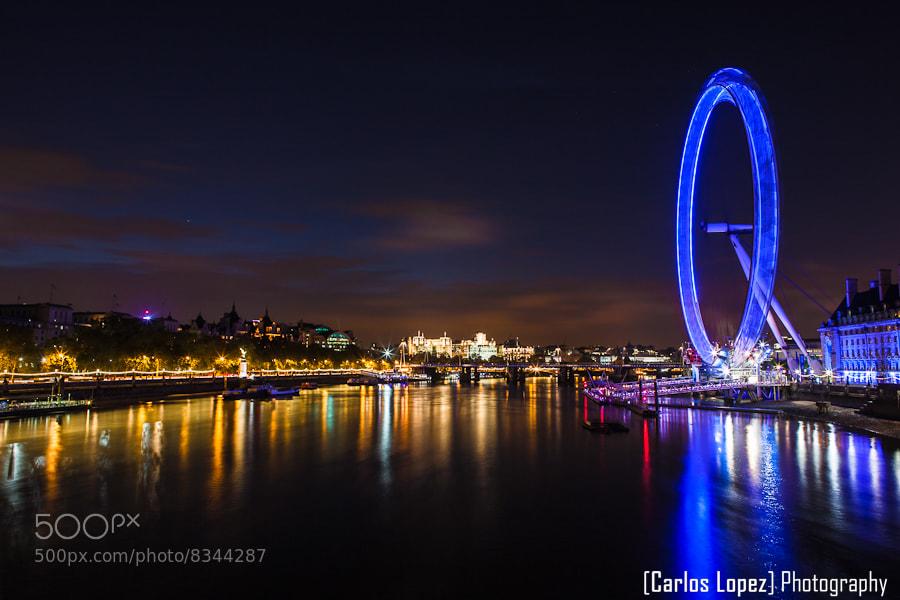 Photograph London Eye, London by Carlos Lopez on 500px