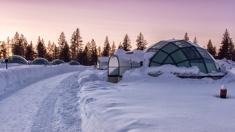 Home is a Glass Igloo by Kristin Repsher on 500px.com