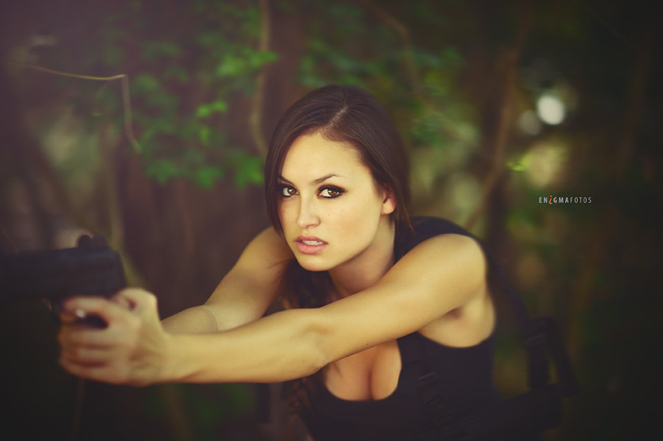 Photograph Angel as Lara Croft by Enigma  Fotos on 500px