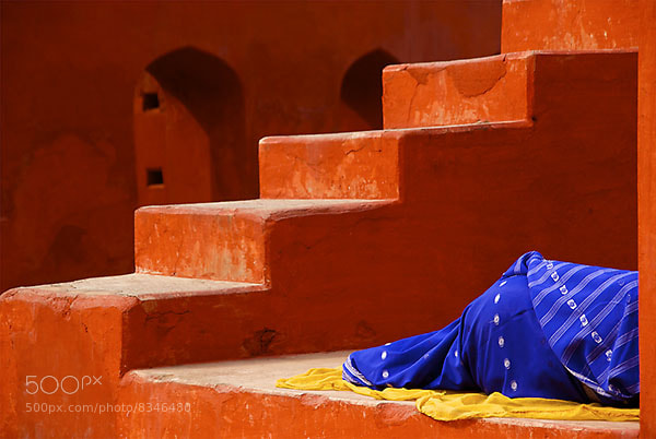Photograph Sleeping on the Job by Sanjay Nanda on 500px
